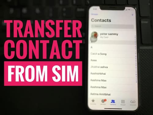 How to Transfer SIM Contacts to Google on Android
